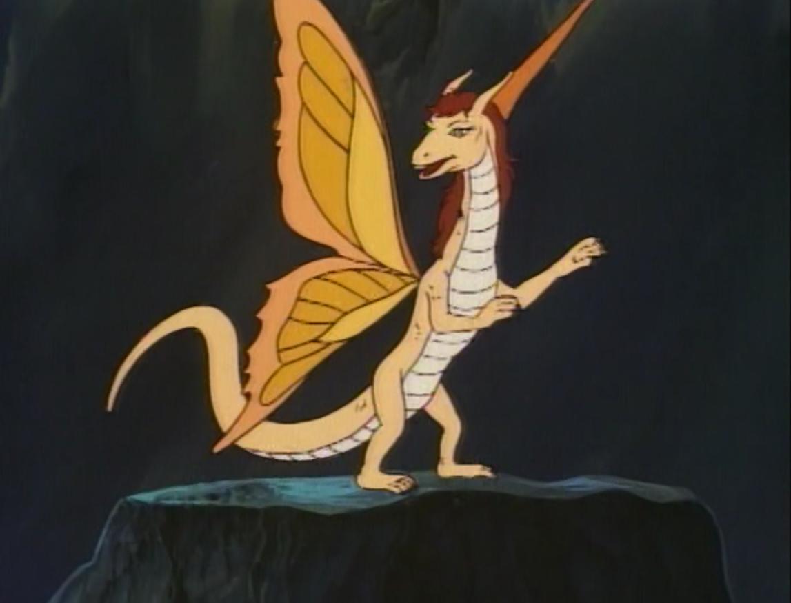 Amber, the faerie dragon