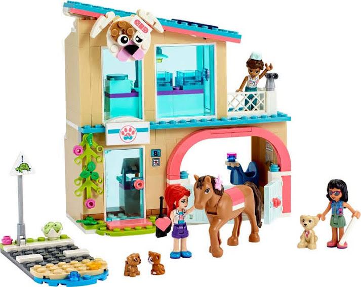 Contenido de Lego® 41446 Clínica Veterinaria de Heartlake City