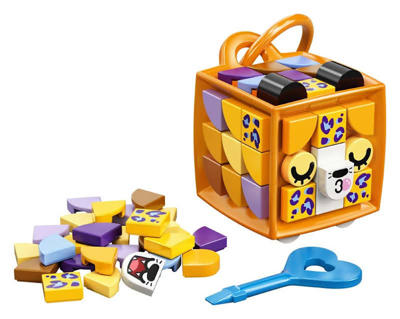 Contenido de LEGO® 41929 Adorno para Mochila: Leopardo