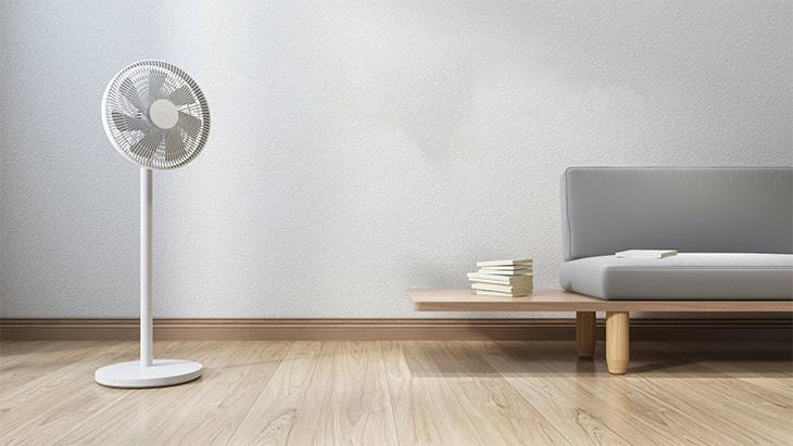 nhãn năng lượng so sánh quạt điện có mức tiêu thụ điện năng