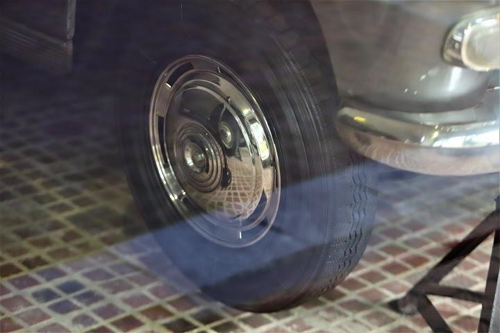 Chiếc Peugeot 404 đã chạy được 16.575km.