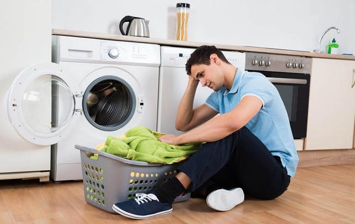 Quần áo giặt bằng máy giặt LG không sạch