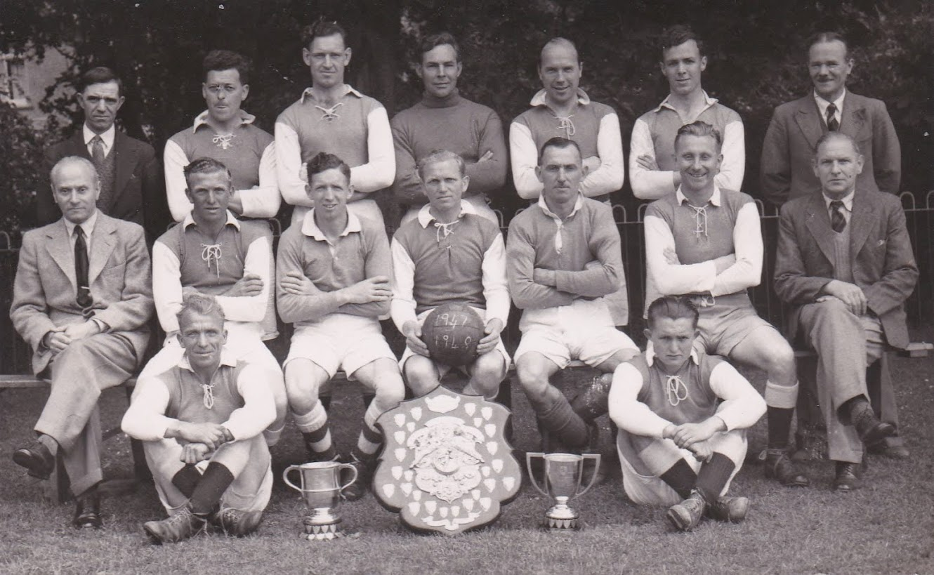 Tenterden Archive - Tenterden Football Club 1947-48 Winners of the Kent Junior Cup, Weald of Kent Charity Cup