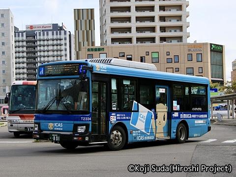 函館バス 本社(高盛)・801 フェレットラッピング