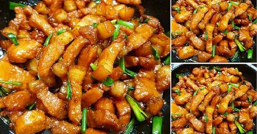 15 công thức các món rim mặn ngọt hao cơm