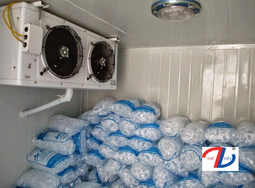 Cách bảo quản đá viên bằng kho lạnh?