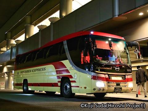 長電バス「ナガデンエクスプレス」大阪線 1453 なんば高速BTにて_01
