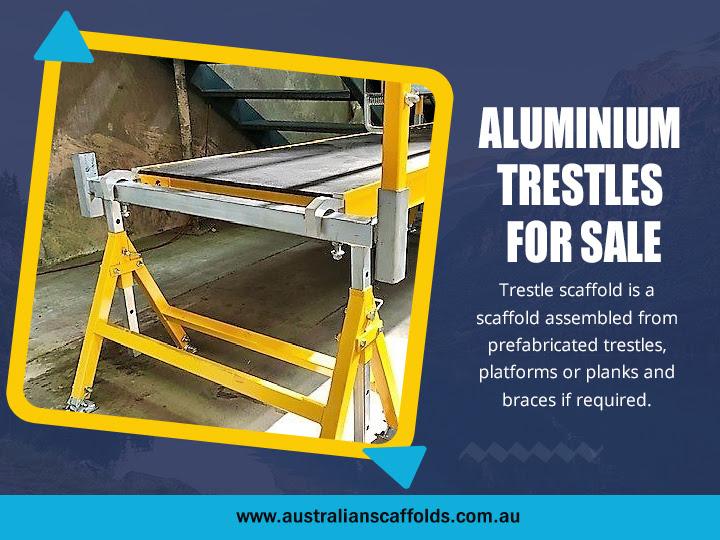 Aluminium Trestles For Sale