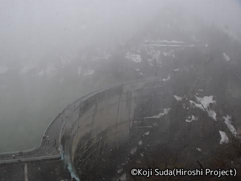 関西電力「関電トンネル電気バス」 黒部ダム_01