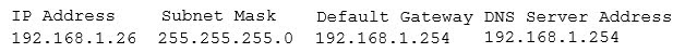 The administrator accesses a workstation with the hostname of workstation01 on the network and obtains the following output from the ipconfig command