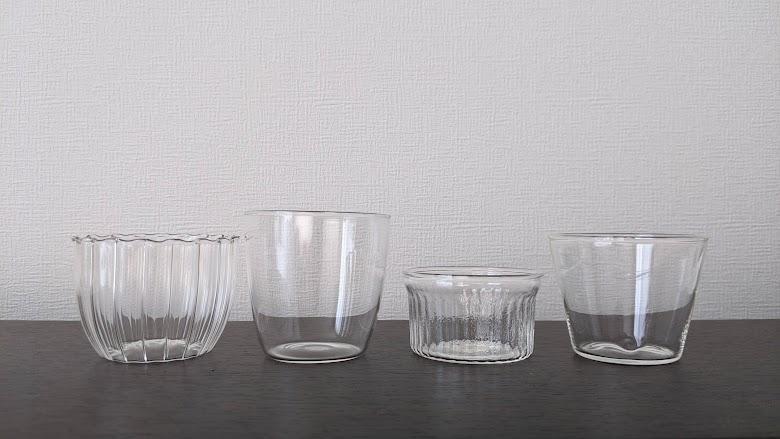 セリア 耐熱ガラス製カップ
