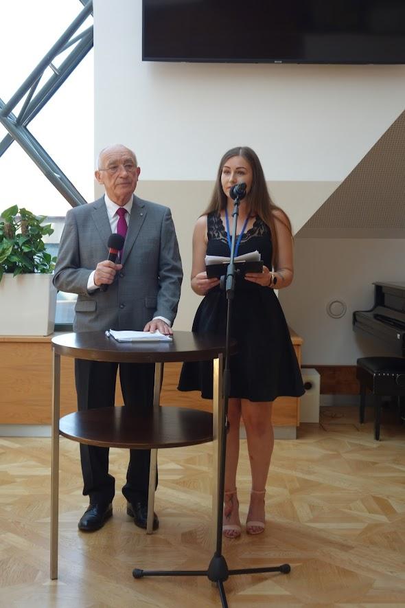 Fedor Mikovič a Martina Saktorová