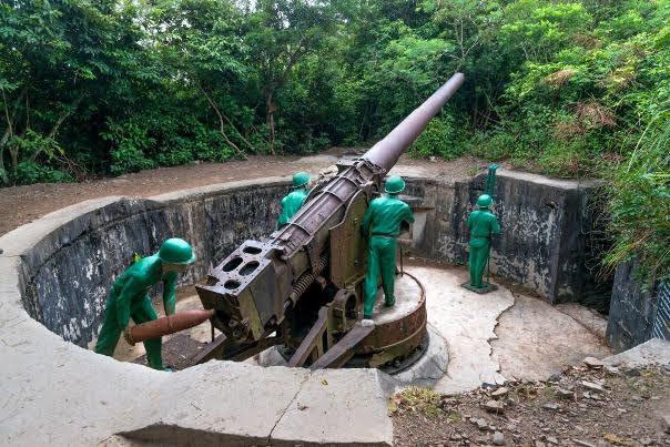 Cannon Fort, Cat Ba Island