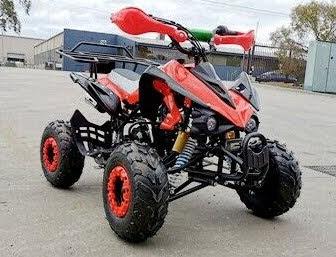 125cc Raptor Style Junior Kids Quad Bike -Red