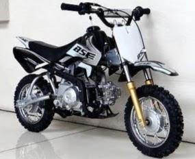 50cc Kids 4 stroke BSE Mini Dirt Bike for sale Black