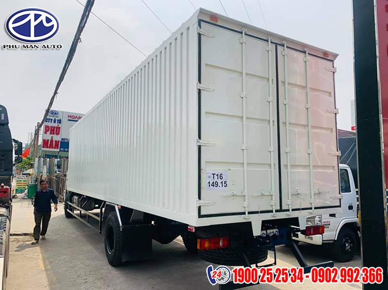 thùng xe dongfeng 7t container