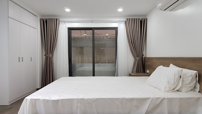 Nice brand – new one bedroom apartment in Tay Ho street, Tay Ho district for rent