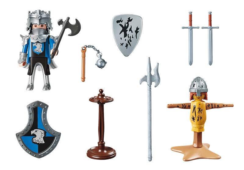 Contenido Real de Playmobil® 70290 Set Caballeros