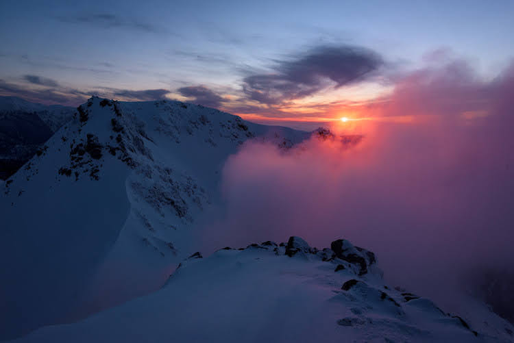 【北アルプス】焼岳 雪山登山(前編)~燃える焼岳で初のツェルト泊~