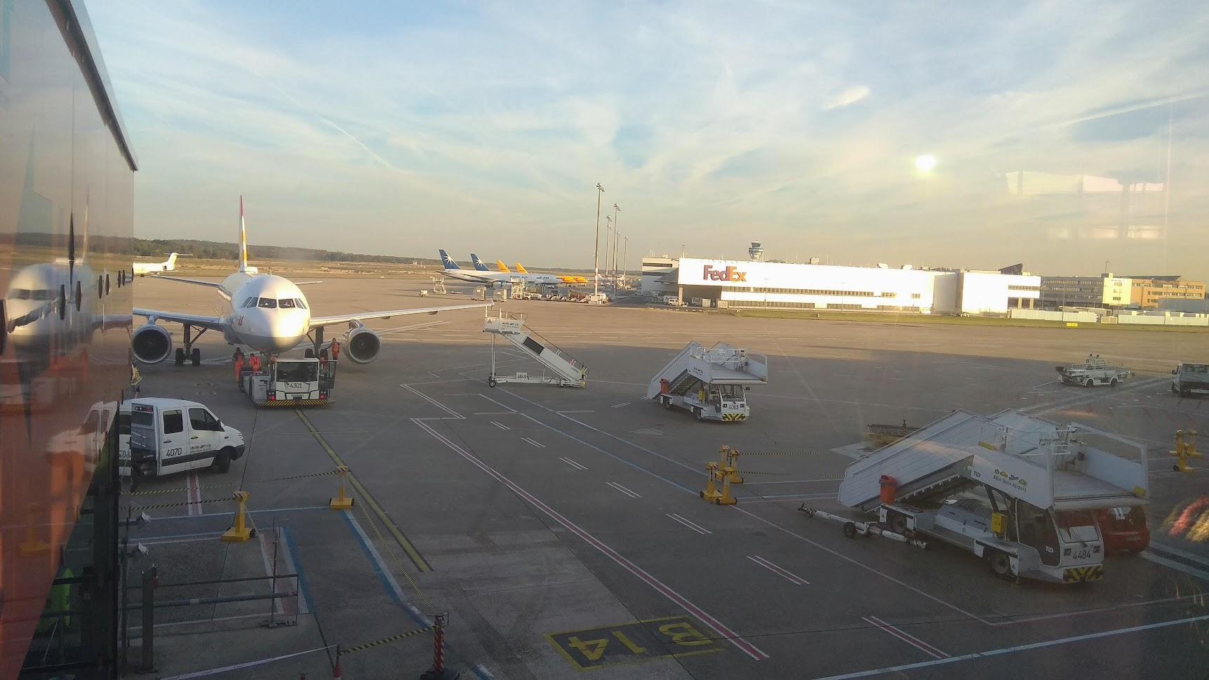 Bonn - letiště, které jsem opravdu vidět nechtěli...