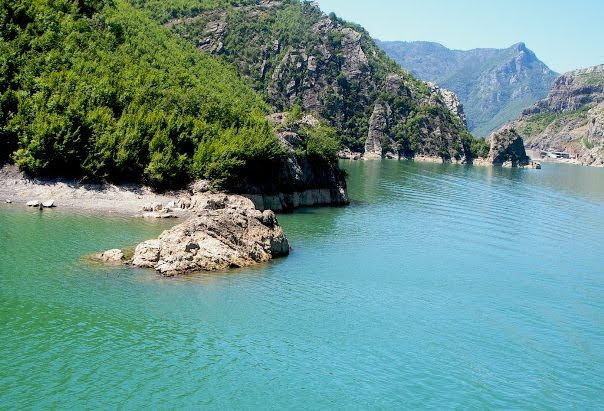 Lake Koman Ferry