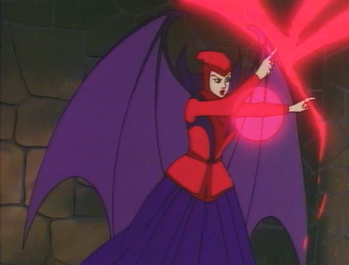 Karena fires her magic