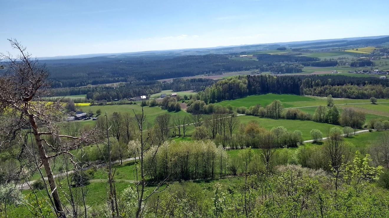 Ausblick in Richtung Pinzenhof