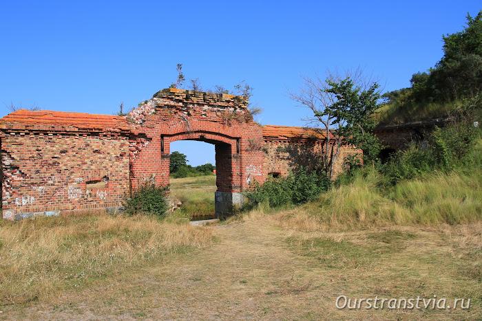 Форт Западный - достопримечательности Балтийской косы