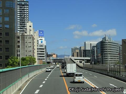 JRバス関東「グラン昼特急8号」 ・・12 2階 最前席からの眺望_01