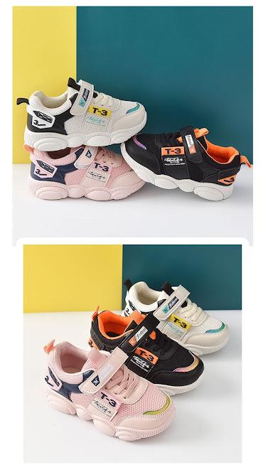 Giày Thể Thao Trẻ Em Mới Nhất Chống Trơn Trượt, Thoáng Khí Size 27-31