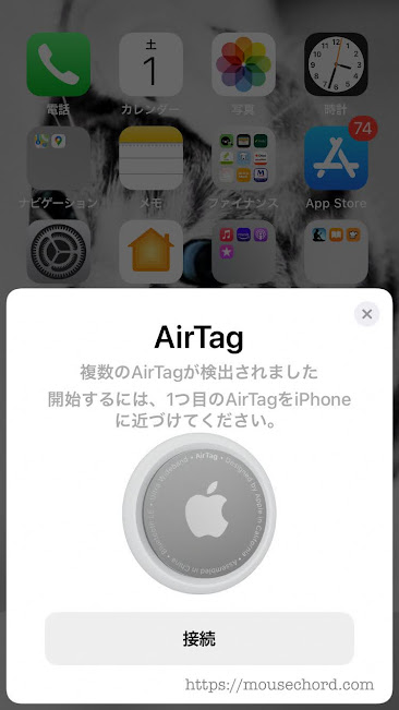 Apple-AirTag(エアタグ)購入Review