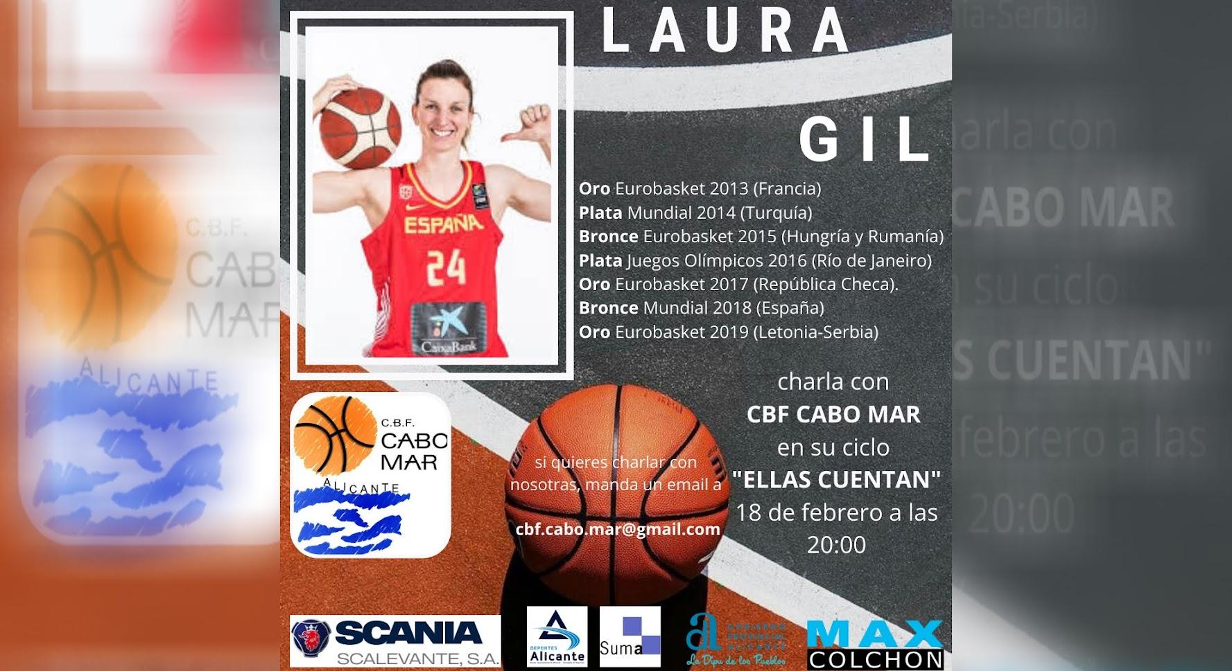 """Laura Gil en el ciclo """"ELLAS CUENTAN"""""""