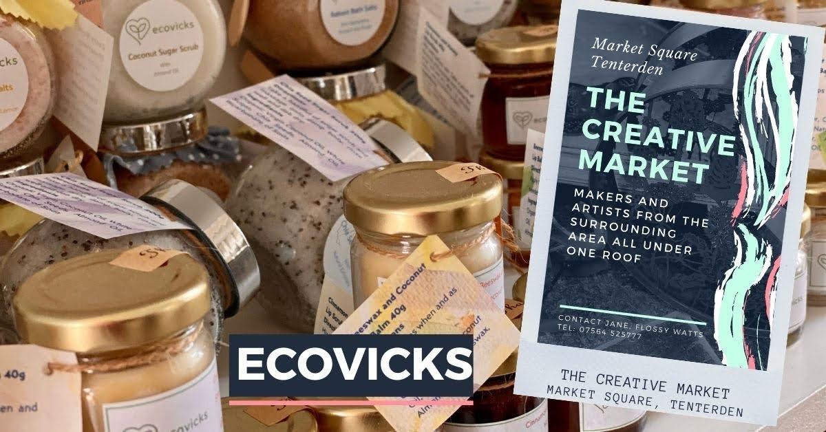 ECOVICKS at Tenterden Creative Market