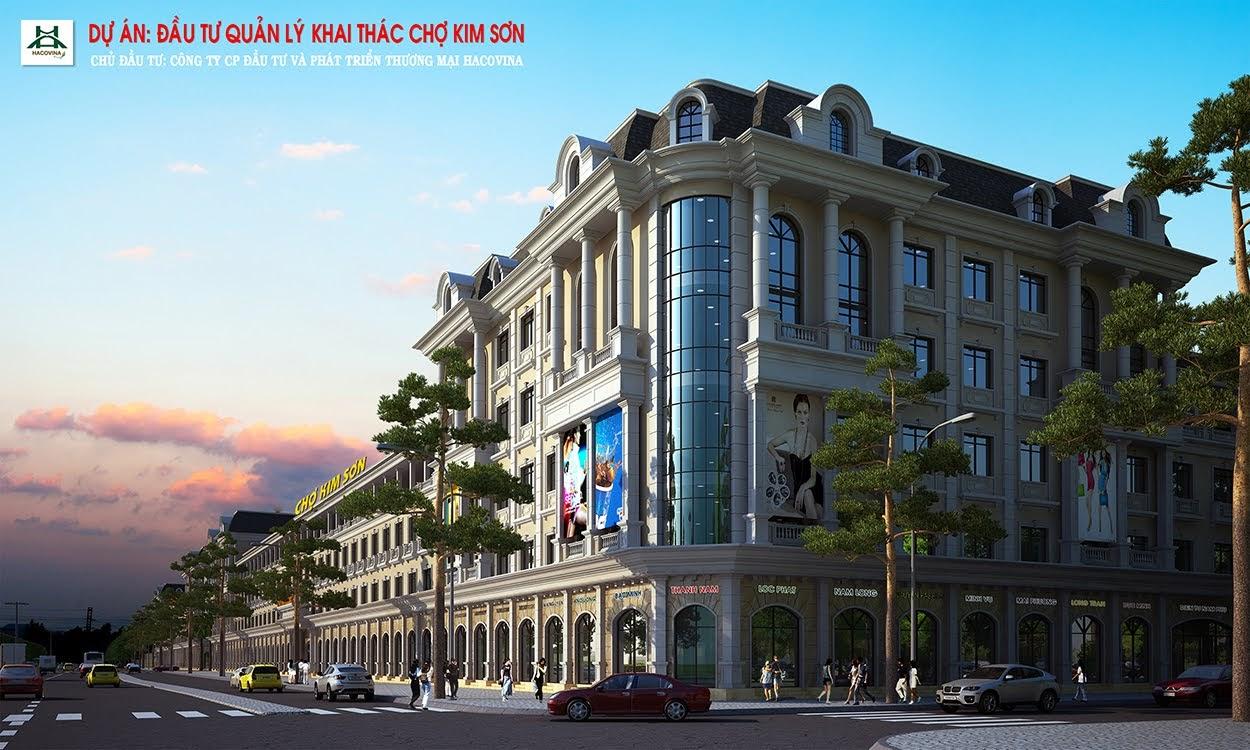 Phối ảnh dự án chợ Kim Sơn, huyện Quế Phong với tổng mức đầu tư hơn 100 tỷ đồng