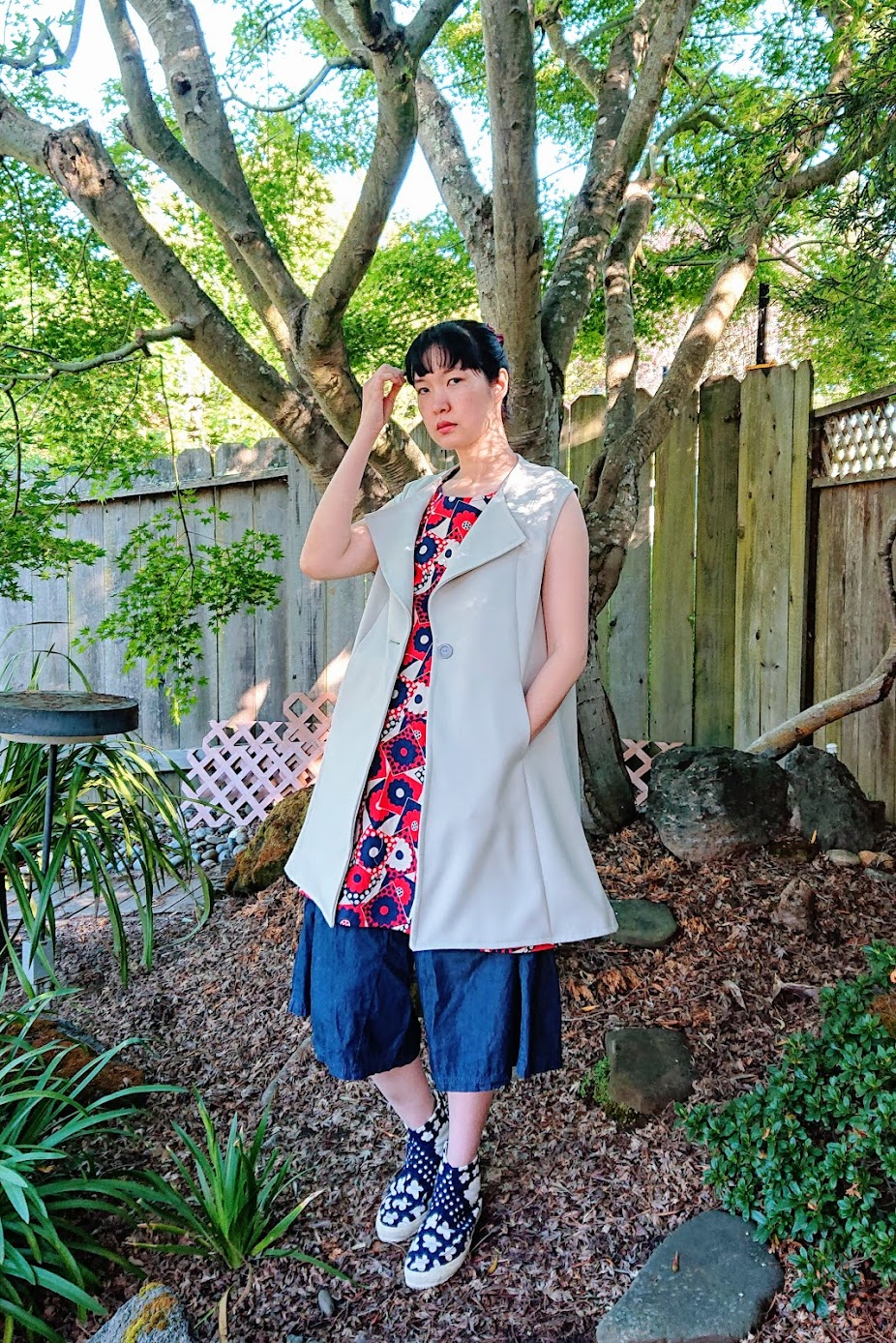Styling: Sleeveless Coat - Reimagine | Fafafoom Studio