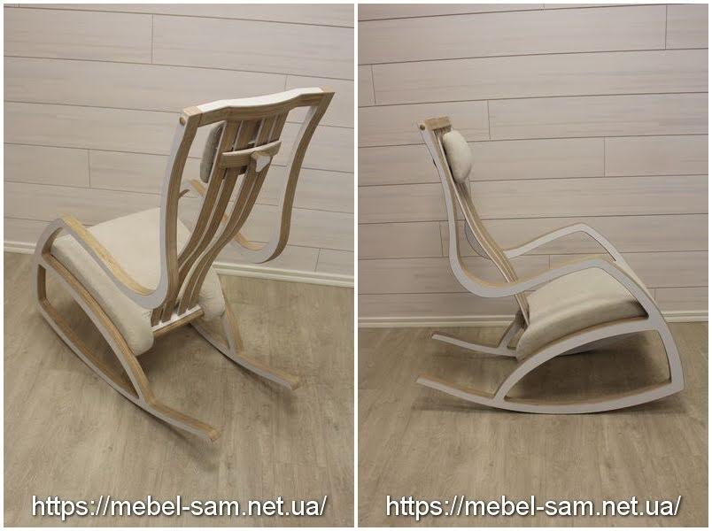 Кресло качалка - вид сзади