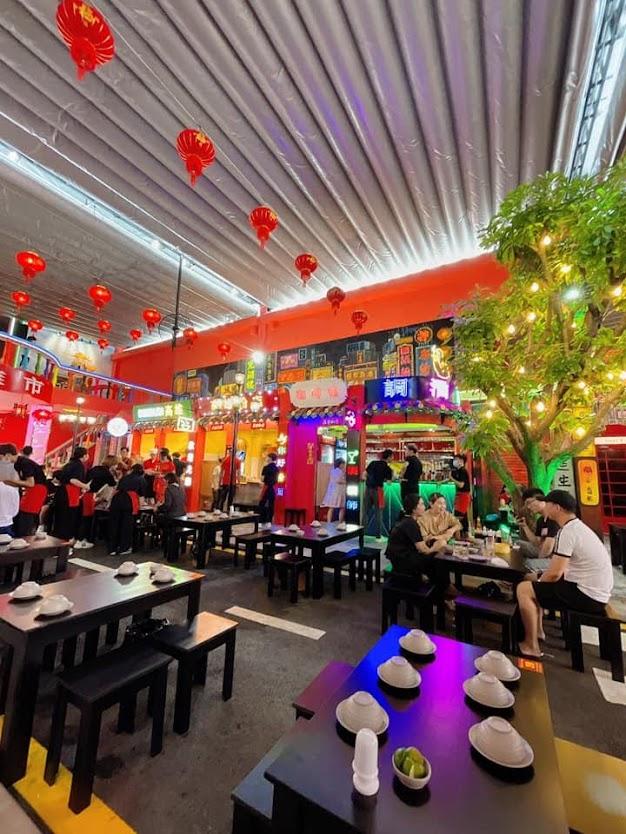 Thi công âm thanh chuyên nghiệp tại quán Phố Cao Hùng Thống Nhất Tân Phú