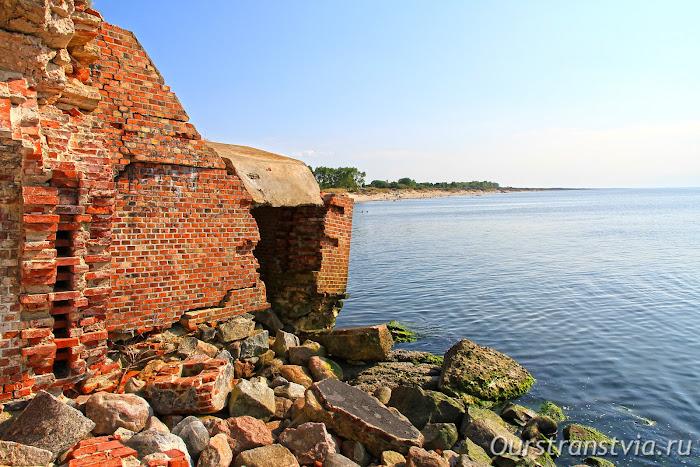 Форт Западный в Балтийске