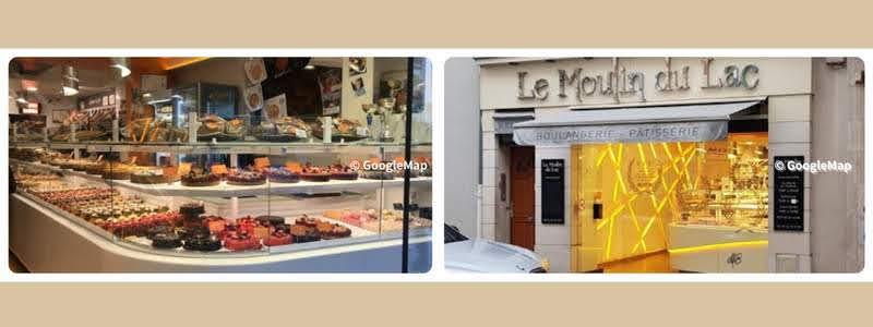 パリのパンオショコラ Le Moulin du Lac ル・ムーラン・デュ・ラク