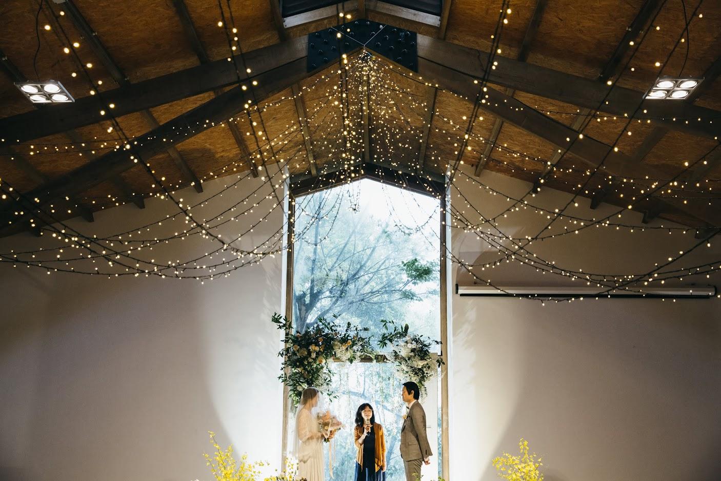 顏氏牧場的室內婚禮