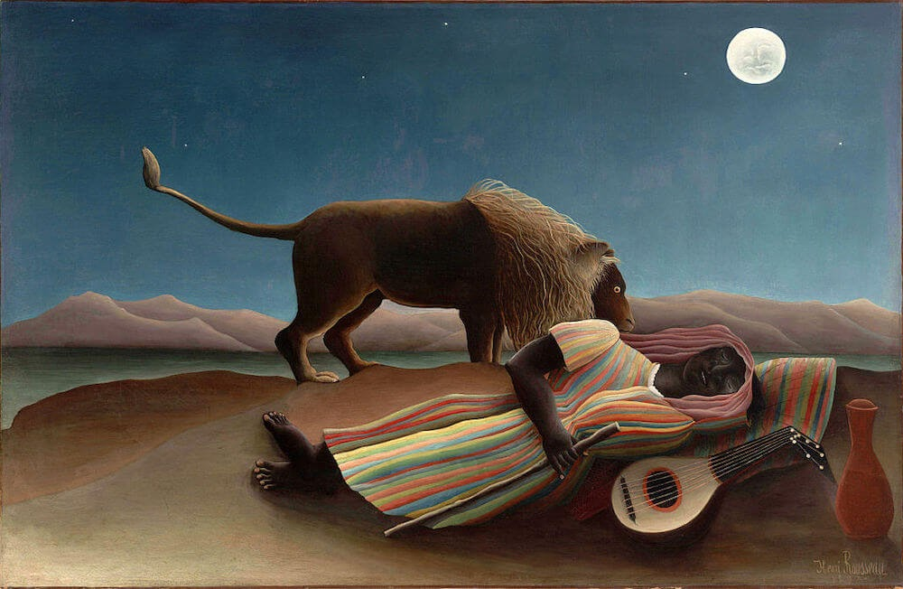 the lion and the gypsy traveler Henri_Rousseau_010.jpg