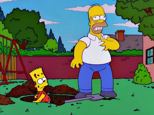 Los Simpsons 13x03 La taberna de Homero