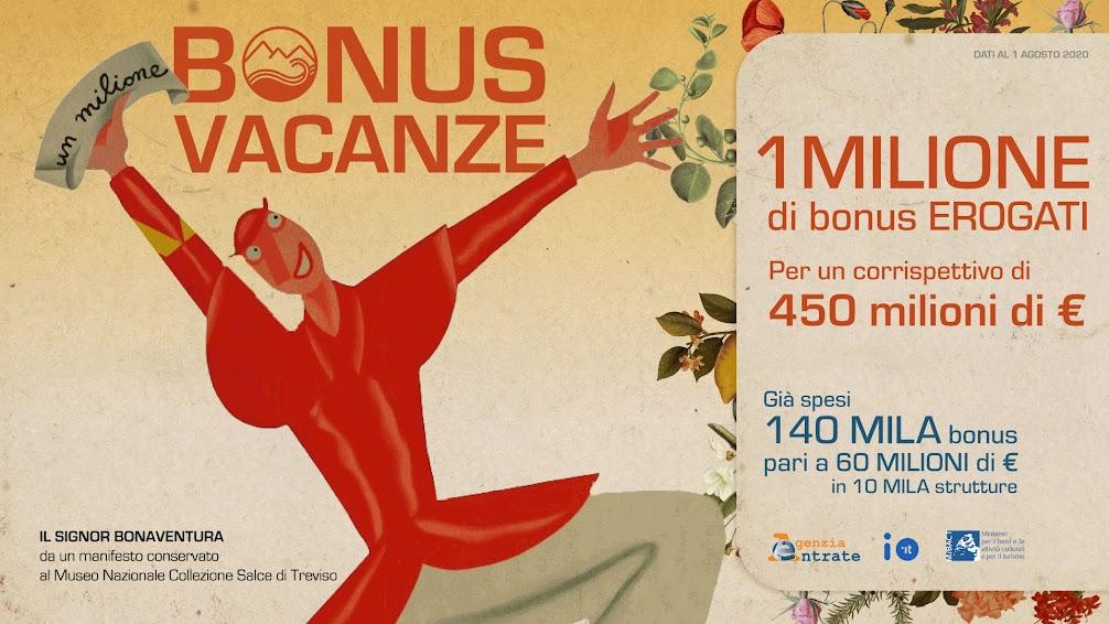 Bonus Vacanze 2020 - photo credit: Mibact
