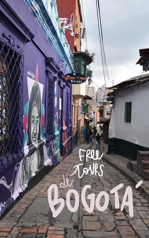 mejores free tours de Bogotá