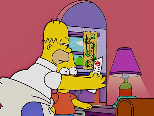 Los Simpsons 16x03 Durmiendo con el enemigo
