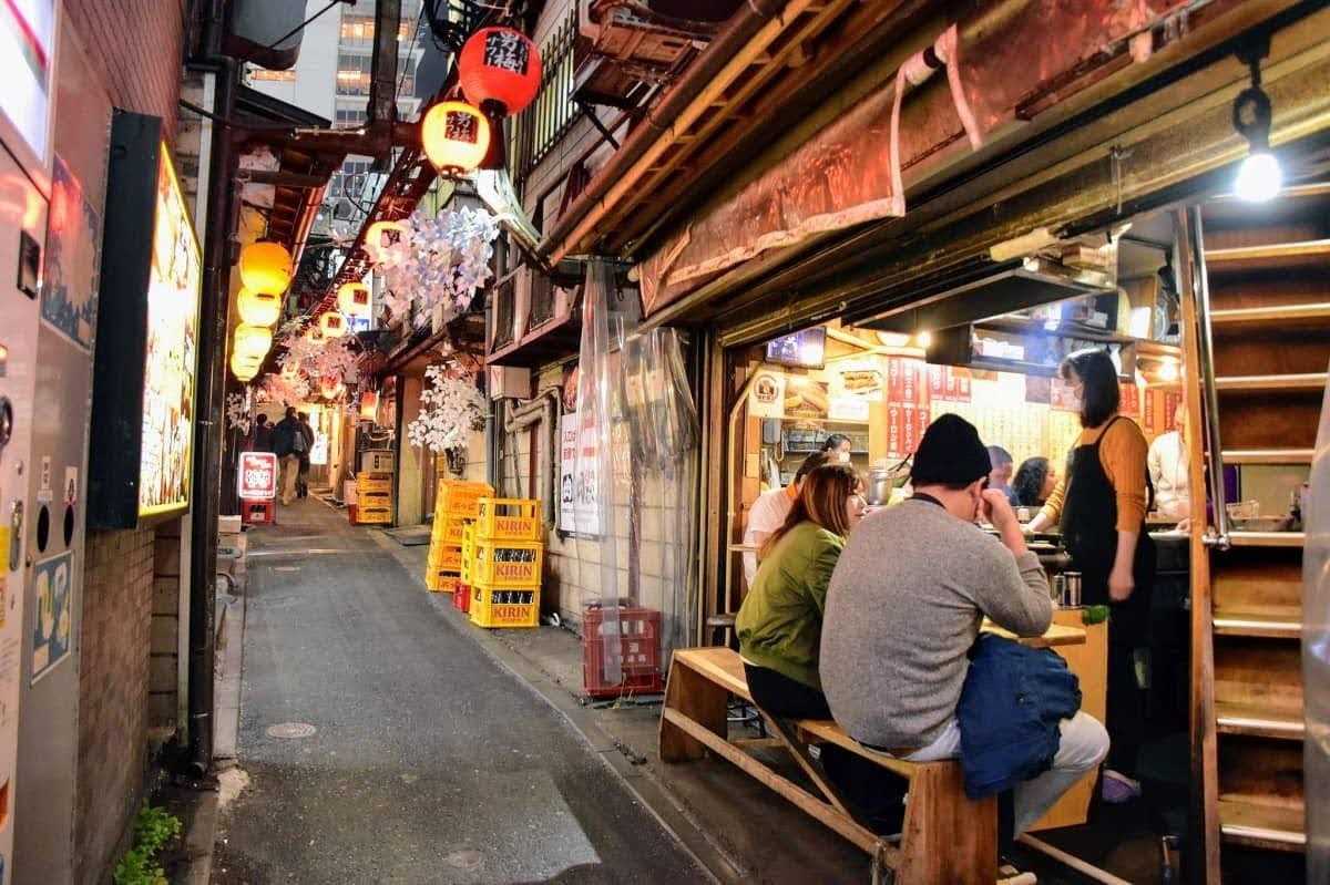 callejón Omoide Yokocho Shinjuku