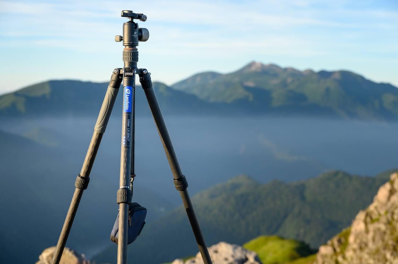 Leofoto LX-254CTを山岳写真で実践投入!コスパ・安定感に優れる山での相棒に