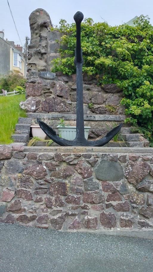 the smaller anchor