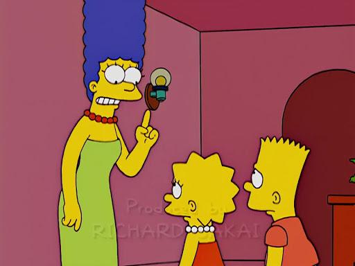Los Simpsons 15x18 Atrápalos si puedes