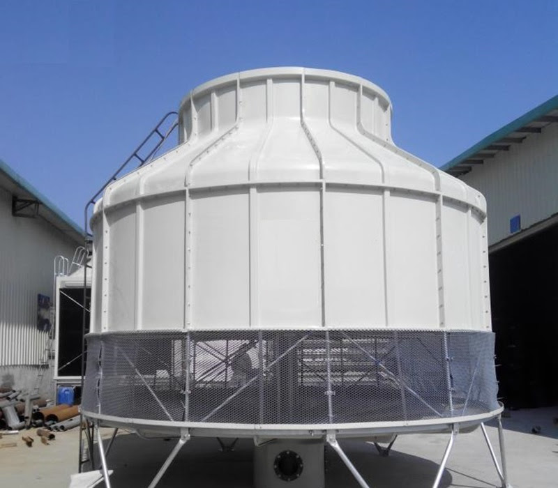Tháp giải nhiệt nước công nghiệp (Cooling Tower) là gì?